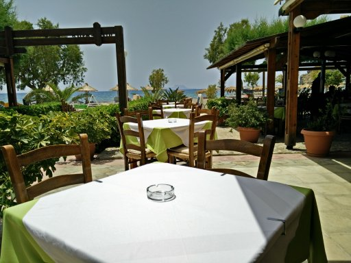 sea view from romantika restaurant in agia galini