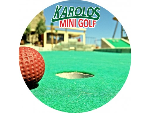 Mini Golf Karolos Agia Galini beach
